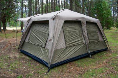 Black Wolf Turbo Lite Cabin family tent