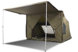 Oztent RV5 Canvas Touring Tent  sc 1 st  Outback Review : best family tents australia - memphite.com