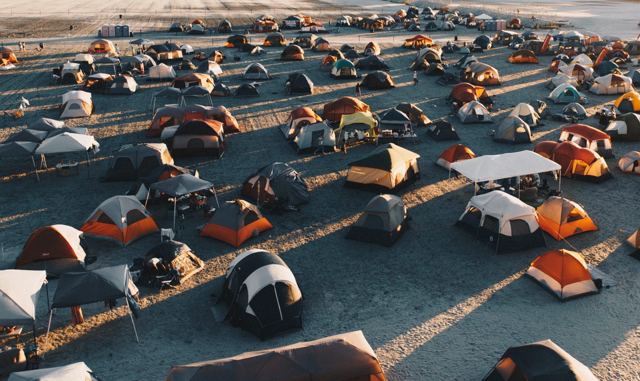 cheap festival tents