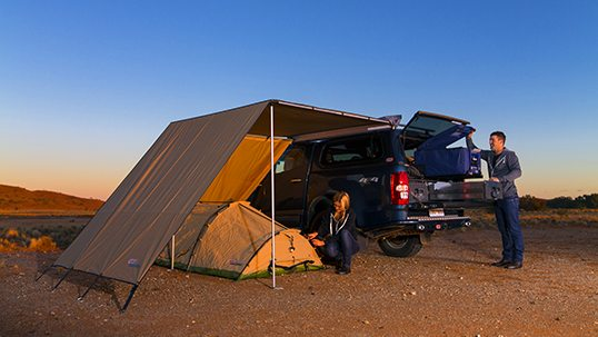 ARB Awning & Best Swags Australia u2014 Outback Review