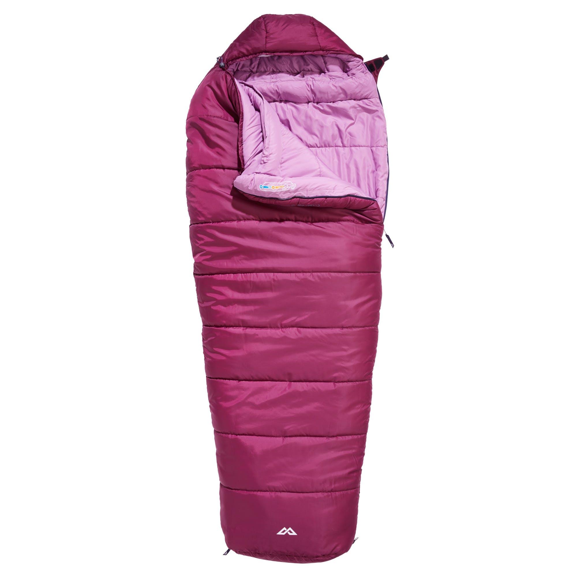 Kathmandu sleeping bag pink