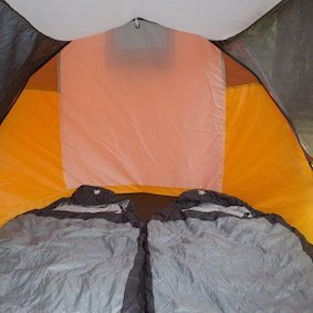inside view of the best pop up tent