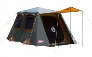 Coleman Instant Up 8 person Gold