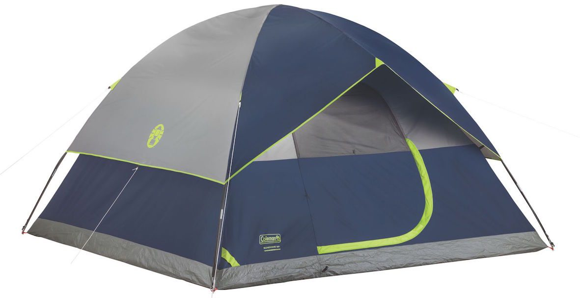 Affordable Instant Shelters : Best coleman tents — outback review