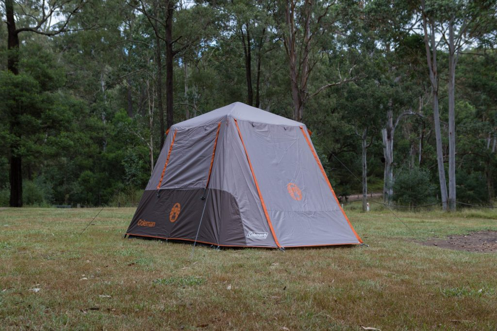 Instant up design Coleman family tents. Coleman6p2 & Coleman Instant Up Tent 6P Review u2014 Outback Review